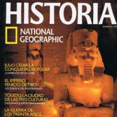 Coleccionismo de National Geographic: REVISTA HISTORIA NATIONAL GEOGRAPHIC Nº 66 - RAMSÉS II, JULIO CÉSAR, FENICIOS, TOLEDO. Lote 194064762