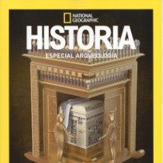 Coleccionismo de National Geographic: LAS TUMBAS REALES DE EGIPTO RECONSTRUCCIÓN 3D - ESPECIAL ARQUEOLOGÍA - HISTORIA NATIONAL GEOGRAPHIC. Lote 194223896