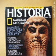Coleccionismo de National Geographic: HISTORIA NATIONAL GEOGRAPHIC Nº 20. Lote 194291281