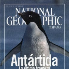 Coleccionismo de National Geographic: NATIONAL GEOGRAPHIC - ANTARTIDA. Lote 194360703