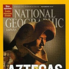 Coleccionismo de National Geographic: NATIONAL GEOGRAPHIC - NOVIEMBRE 2010. Lote 194380167