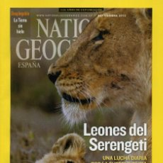 Coleccionismo de National Geographic: NATIONAL GEOGRAPHIC - SEPTIEMBRE 2013. Lote 194380620