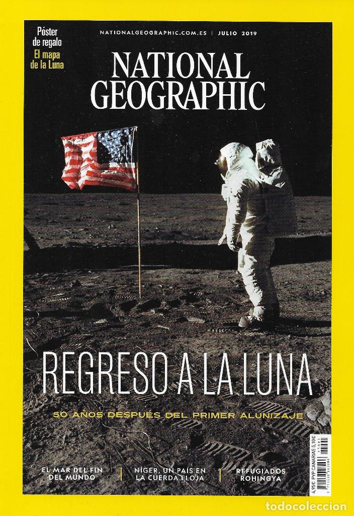 Coleccionismo de National Geographic: NATIONAL GEOGRAPHIC - JULIO 2019 - Foto 1 - 194380823