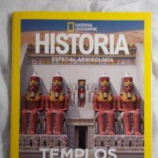 Coleccionismo de National Geographic: ESPECIAL ARQUEOLOGÍA HISTORIA TEMPLOS DE EGIPTO. Lote 194634235