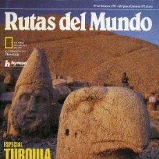 Coleccionismo de National Geographic: RUTAS DEL MUNDO - FEBRERO 1993. Lote 194650712