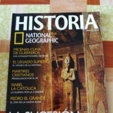 Coleccionismo de National Geographic: HISTÒRIA NATIONAL GEOGRAPHIC - NÚMERO 43. Lote 195004621