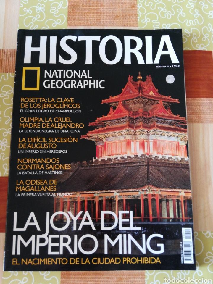 HISTÒRIA NATIONAL GEOGRAPHIC - NÚMERO 44 (Coleccionismo - Revistas y Periódicos Modernos (a partir de 1.940) - Revista National Geographic)