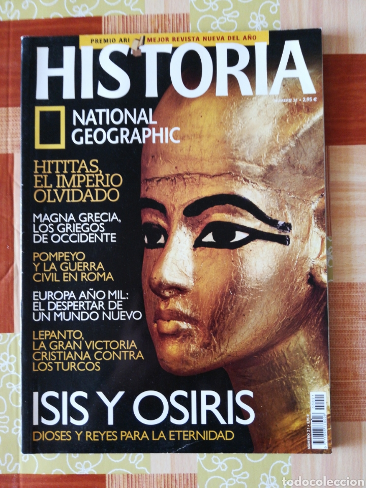 Coleccionismo de National Geographic: Història national geographic - número 21 - Foto 1 - 195005601