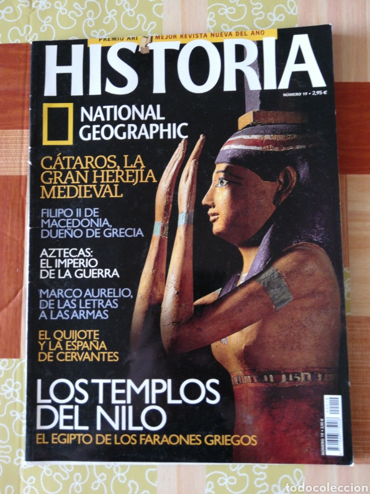 HISTÒRIA NATIONAL GEOGRAPHIC - NÚMERO 19 (Coleccionismo - Revistas y Periódicos Modernos (a partir de 1.940) - Revista National Geographic)