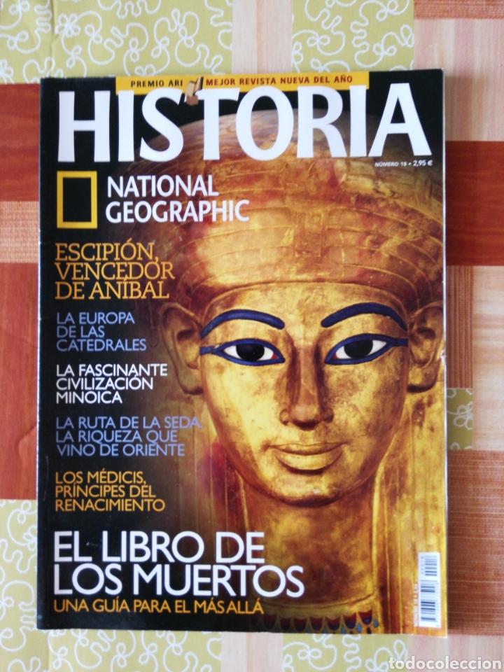 HISTÒRIA NATIONAL GEOGRAPHIC - NÚMERO 18 (Coleccionismo - Revistas y Periódicos Modernos (a partir de 1.940) - Revista National Geographic)