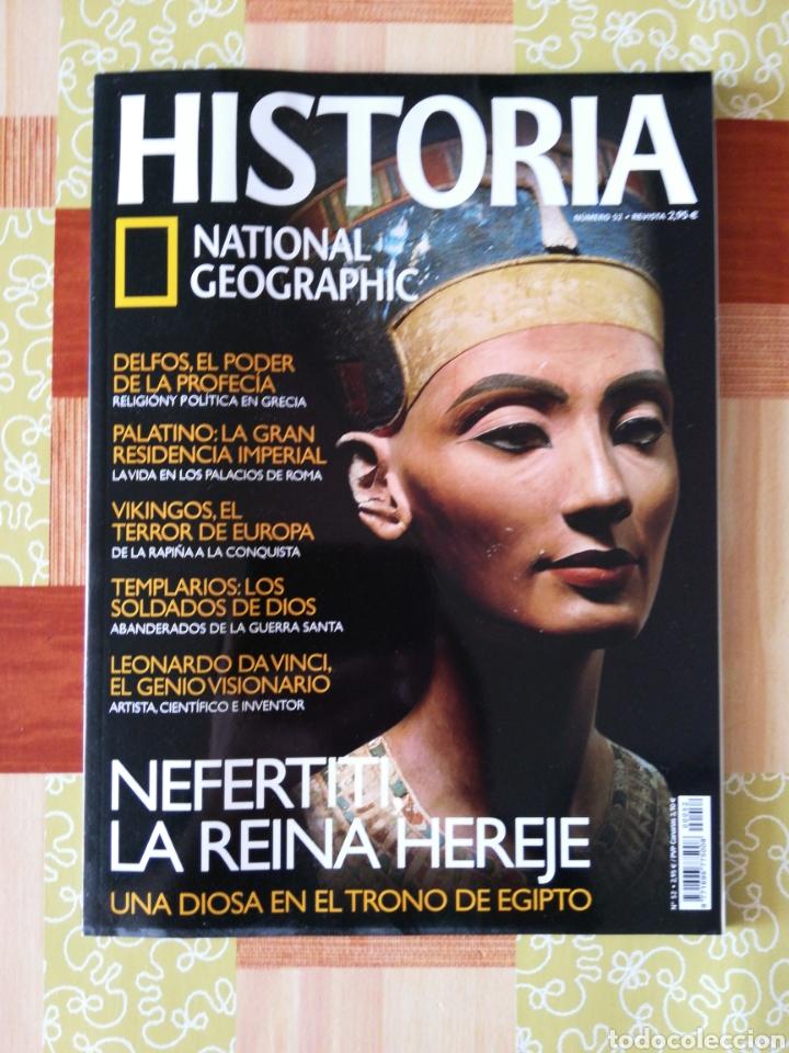 HISTÒRIA NATIONAL GEOGRAPHIC - NÚMERO 52 (Coleccionismo - Revistas y Periódicos Modernos (a partir de 1.940) - Revista National Geographic)
