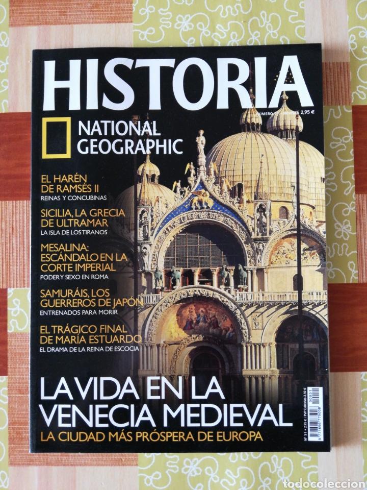 HISTÒRIA NATIONAL GEOGRAPHIC - NÚMERO 51 (Coleccionismo - Revistas y Periódicos Modernos (a partir de 1.940) - Revista National Geographic)