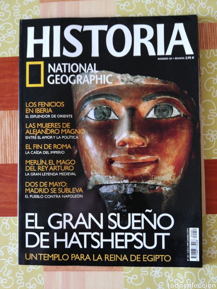 HISTÒRIA NATIONAL GEOGRAPHIC - NÚMERO 50 (Coleccionismo - Revistas y Periódicos Modernos (a partir de 1.940) - Revista National Geographic)