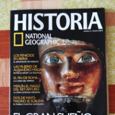 Coleccionismo de National Geographic: HISTÒRIA NATIONAL GEOGRAPHIC - NÚMERO 50. Lote 195006262
