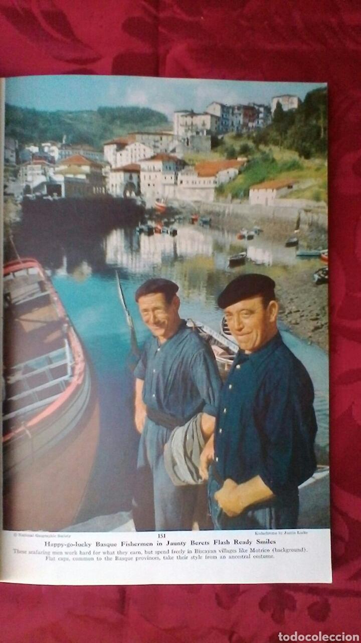 Coleccionismo de National Geographic: País Vasco 1954 - Foto 3 - 195175332