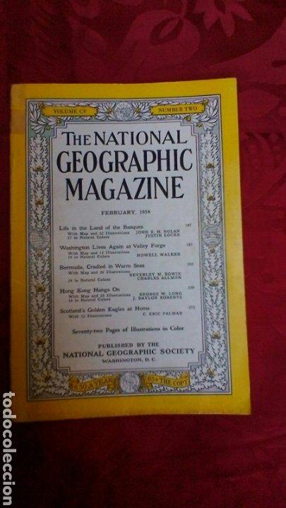 PAÍS VASCO 1954 (Coleccionismo - Revistas y Periódicos Modernos (a partir de 1.940) - Revista National Geographic)