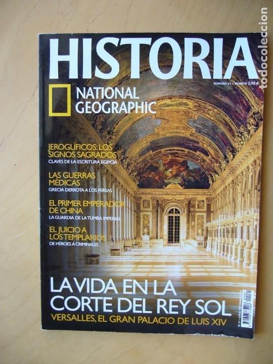 HISTORIA NATIONAL GEOGRAPHIC Nº 61 (Coleccionismo - Revistas y Periódicos Modernos (a partir de 1.940) - Revista National Geographic)