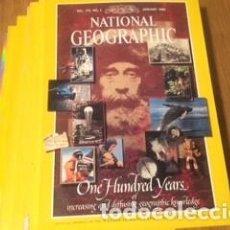 Coleccionismo de National Geographic: REVISTA NATIONAL GEOGRAPHIC ORIGINAL AÑOS 1987, 1988, 1989, 1990, 1992, 1996. Lote 195653411