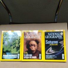 Coleccionismo de National Geographic: REVISTAS NATIONAL GEOGRAPHIC. Lote 195825808
