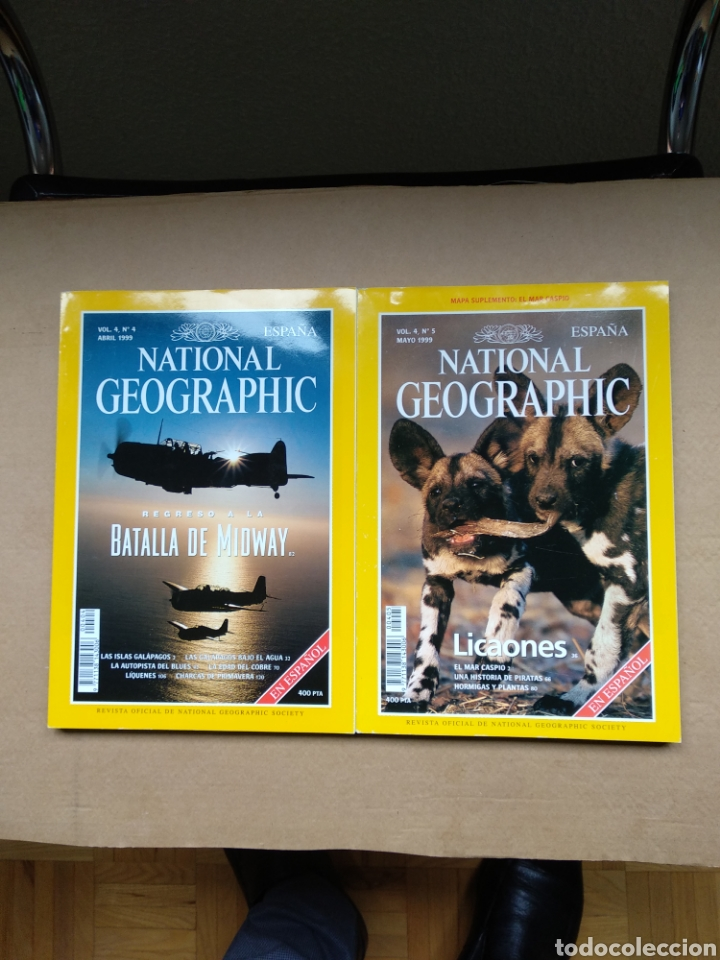 REVISTAS NATIONAL GEOGRAPHIC DE (Coleccionismo - Revistas y Periódicos Modernos (a partir de 1.940) - Revista National Geographic)
