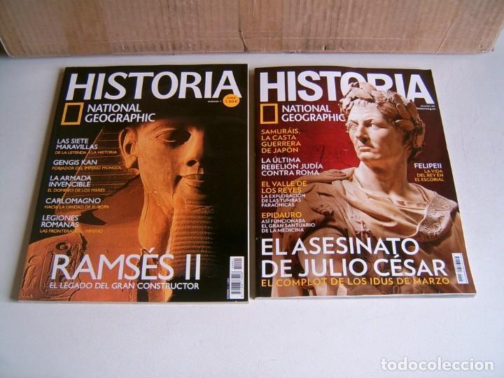 NATIONAL GEOGRAPHIC HISTORIA (Coleccionismo - Revistas y Periódicos Modernos (a partir de 1.940) - Revista National Geographic)