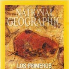 Collectionnisme de National Geographic: NATIONAL GEOGRAPHIC ENERO 2015 LOS PRIMEROS ARTISTAS. Lote 195890607