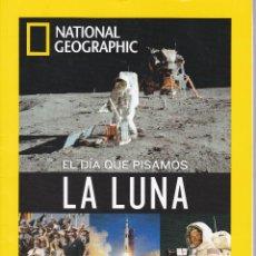 Coleccionismo de National Geographic: EL DIA QUE PISAMOS LA LUNA 50 ANIVERSARIO EDICIÓN COLECCIONISTA. Lote 196602100