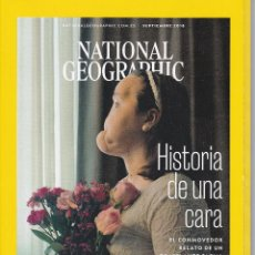 Coleccionismo de National Geographic: NATIONAL GEOGRAPHIC HISTORIA DE UNA CARA. Lote 196602981