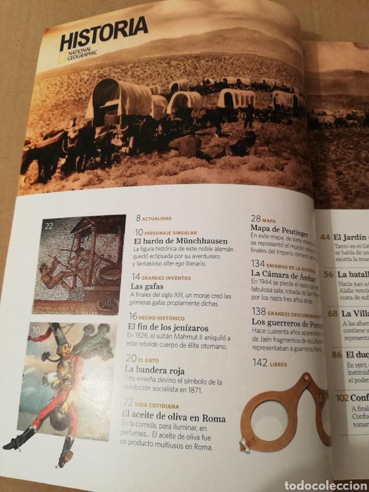 Coleccionismo de National Geographic: REVISTA HISTORIA NATIONAL GEOGRAPHIC Nº 157 (POMPEYA. LA ENIGMÁTICA VILLA DE LOS MISTERIOS) - Foto 2 - 196806085