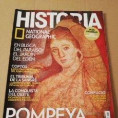 Coleccionismo de National Geographic: REVISTA HISTORIA NATIONAL GEOGRAPHIC Nº 157 (POMPEYA. LA ENIGMÁTICA VILLA DE LOS MISTERIOS). Lote 196806085