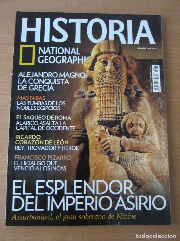 EL ESPLENDOR ASIRIO (Coleccionismo - Revistas y Periódicos Modernos (a partir de 1.940) - Revista National Geographic)