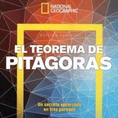 Coleccionismo de National Geographic: NATIONAL GEOGRAPHIC ESPECIAL N. 41 - EL TEOREMA DE PITAGORAS (NUEVA). Lote 198044215