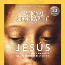 Coleccionismo de National Geographic: NATIONAL GEOGRAPHIC N. 41006 DICIEMBRE 2017 - EN PORTADA: JESUS (NUEVA). Lote 198401931