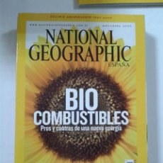 Coleccionismo de National Geographic: REVISTA NATIONAL GEOGRAPHIC ESPAÑA. NOVIEMBRE 2007. Lote 198468103