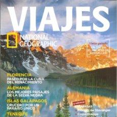 Coleccionismo de National Geographic: 1542. VIAJES: FLORENCIA. SELVA NEGRA. GALAPAGOS. TENERIFE. CANADA. Lote 198596768