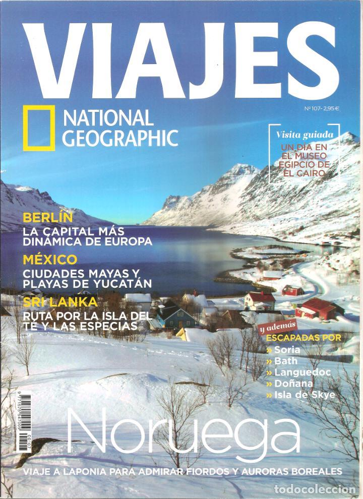 1546. VIAJES: BERLIN. MEXICO. SRI LANKA. NORUEGA (Coleccionismo - Revistas y Periódicos Modernos (a partir de 1.940) - Revista National Geographic)