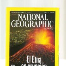 Coleccionismo de National Geographic: 1558. FEBRERO 2002. ETNA. ENFERMEDAD. SIDA. CUBA. LOS STAN. Lote 198623471