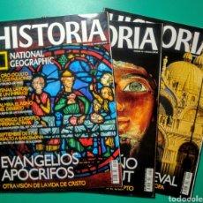 Coleccionismo de National Geographic: 19 REVISTAS. HISTORIA. NATIONAL GEOGRAPHIC.. Lote 199170706