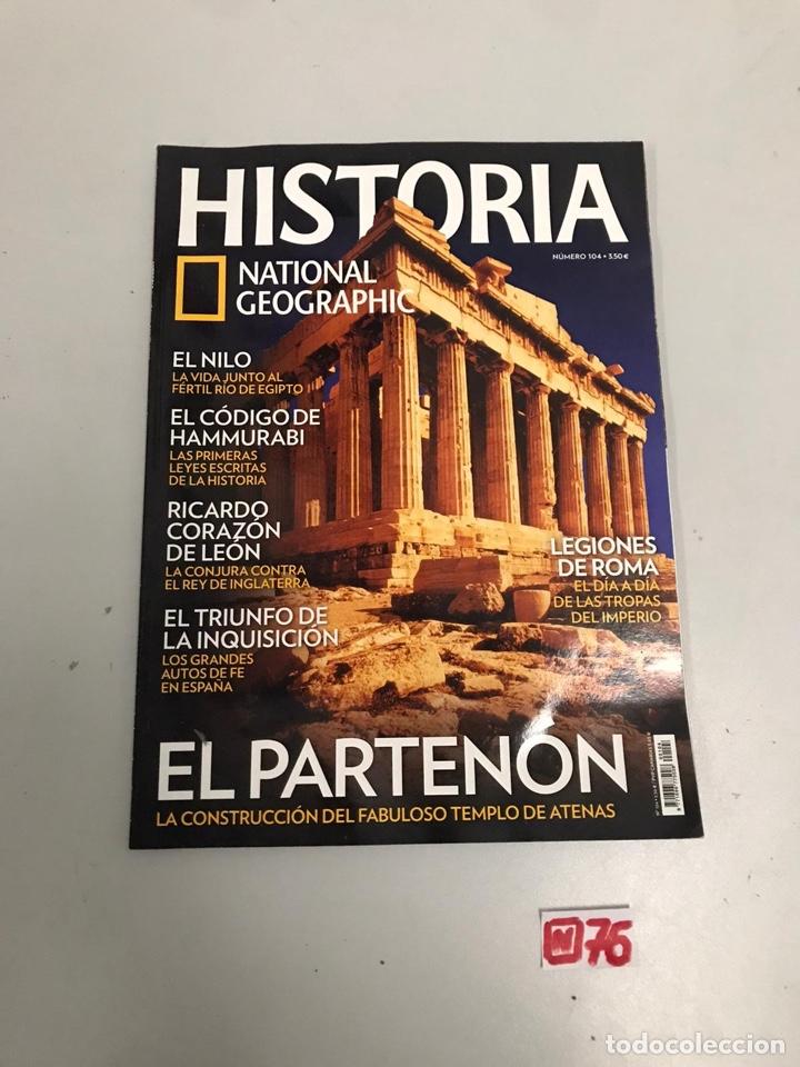 HISTORIA (Coleccionismo - Revistas y Periódicos Modernos (a partir de 1.940) - Revista National Geographic)