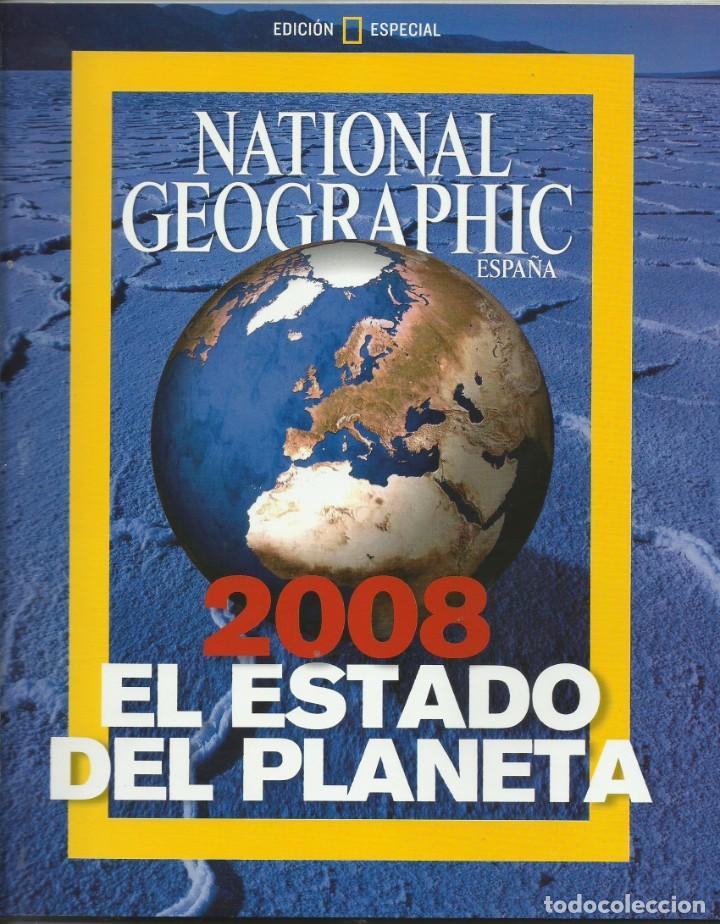 EL ESTADO DEL PLANETA 2008 (Coleccionismo - Revistas y Periódicos Modernos (a partir de 1.940) - Revista National Geographic)