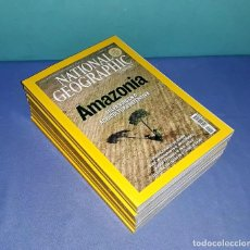 Coleccionismo de National Geographic: LOTE DE 12 TOMOS DE NATIONAL GEGRAPHIC AÑOS 2006 2007 ORIGINALES EN EXCELENTE ESTADO. Lote 202028117