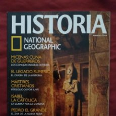 Coleccionismo de National Geographic: HISTORIA NATIONAL GEOGRAPHIC Nº 43. Lote 202855512