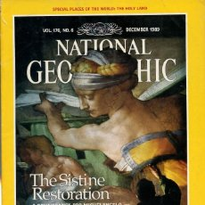 Colecionismo da National Geographic: NATIONAL GEOGRAPHIC - VOL 176 Nº 6 DECEMBER 1989 - EN INGLÉS. Lote 202890400