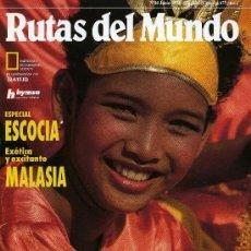 Coleccionismo de National Geographic: RUTAS DEL MUNDO - Nº 40 JUNIO 1993. Lote 203026905