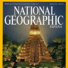 Coleccionismo de National Geographic: NATIONAL GEOGRAPHIC - AGOSTO 2007. Lote 203049825