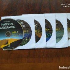 Coleccionismo de National Geographic: NATIONAL GEOGRAPHIC - 6 CD'S CON LAS REVISTAS DESDE OCTUBRE DE 1888 HASTA DICIEMBRE DE 2009. Lote 204241682