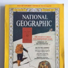 Coleccionismo de National Geographic: REVISTA NATIONAL GEOGRAPHIC OCTUBRE 1963 EN INGLES. Lote 204457107