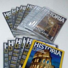 Coleccionismo de National Geographic: 13 REVISTAS HISTORIA NATIONAL GEOGRAPHIC DEL 159 AL 170 NUEVOS SIN ABRIR. Lote 205555676