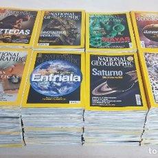 Coleccionismo de National Geographic: LOTE DE 214 REVISTAS NATIONAL GEOGRAPHIC EN ESPAÑOL DEL AÑO 1996 AL 2006. Lote 205787087