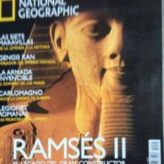 Collectionnisme de National Geographic: HISTORIA NATIONAL GEOGRAPHIC Nº 1 . RAMSÉS II .LEGIONES ROMANAS. CARLOMAGNO.LA ARMADA INVENCIBLE,. Lote 207470965